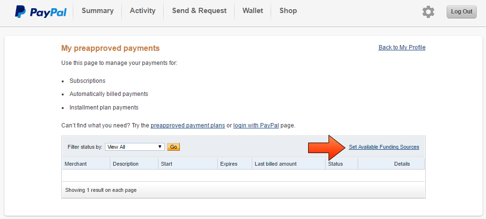 Paypal Currency Conversion Option - Step 4