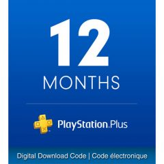12-month PlayStation Plus