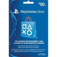 $50 PlayStation Network Code