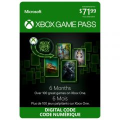 6-month Xbox Game Pass